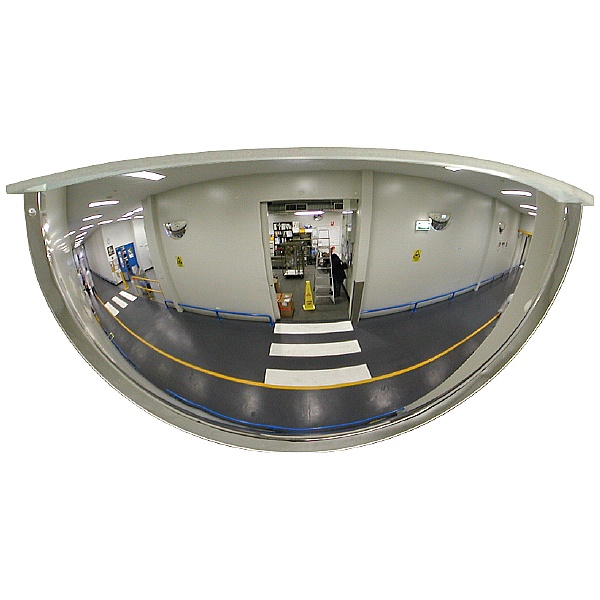 Panoramic 180° Mirrors With Cover