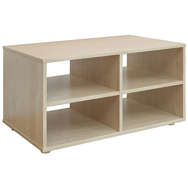 Reading Nook 4 Shelf Storage Unit