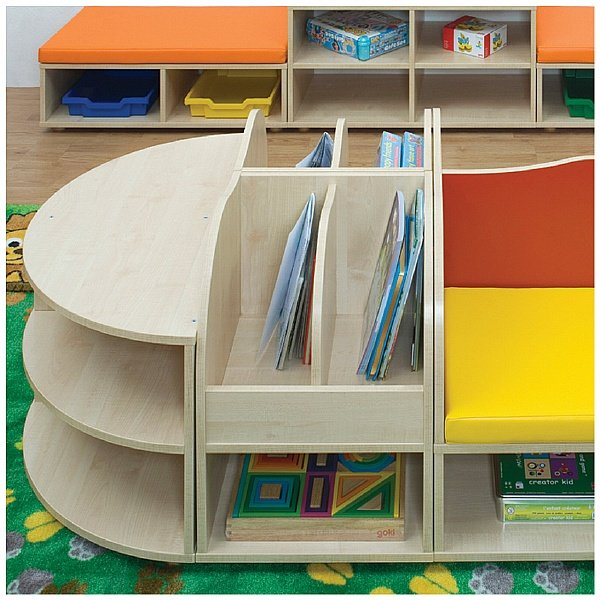 Reading Nook Book Storage Unit