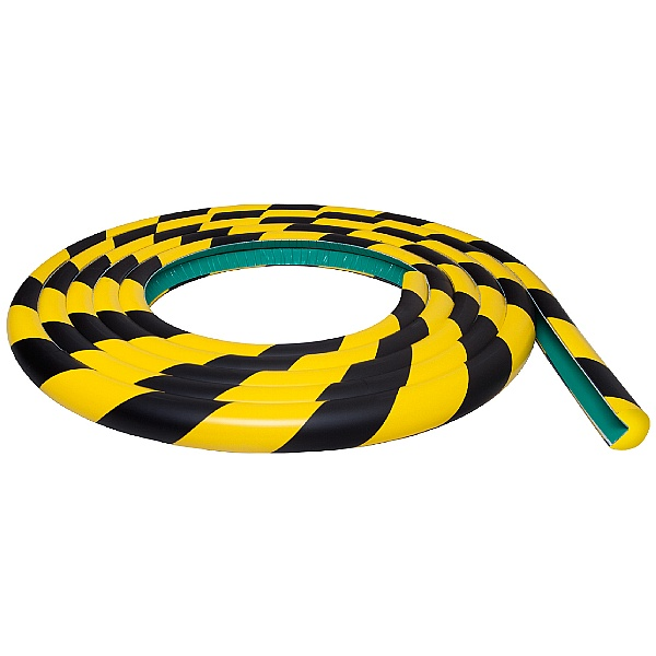 TRAFFIC-LINE Yellow/Black Profiled Impact Protection - 5 Metres