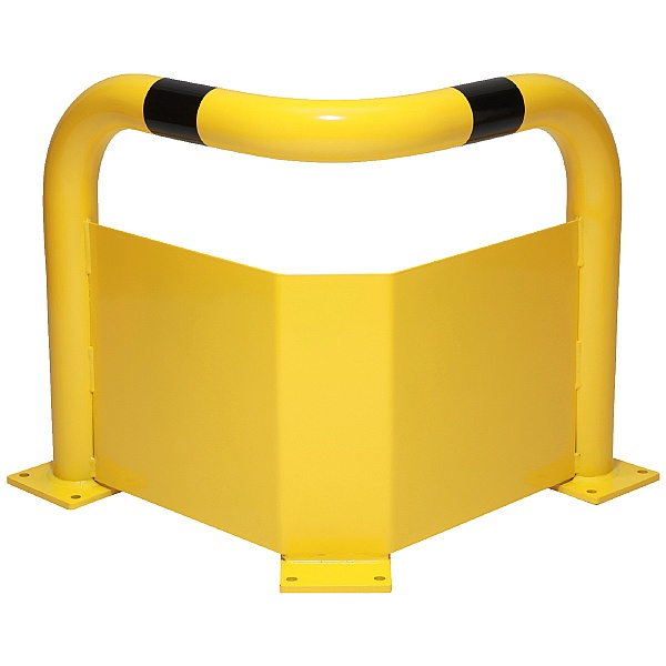 Black Bull Corner Protection Guards With Under-Run Protection