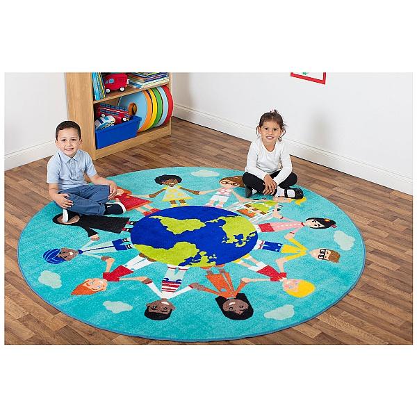 Children Of The World Carpet