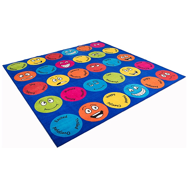 Emotions Interactive Square Carpet