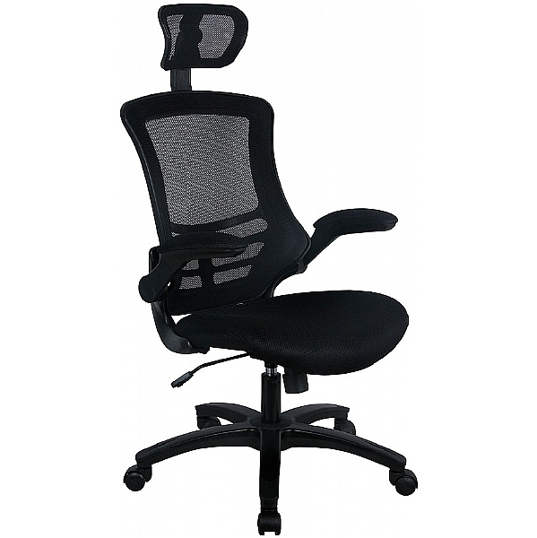 Sprint Black Mesh Office Chair