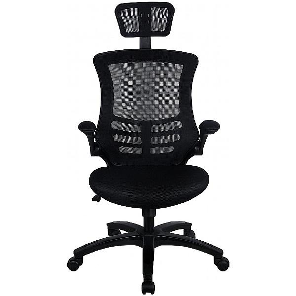 Sprint Black Mesh Office Chair