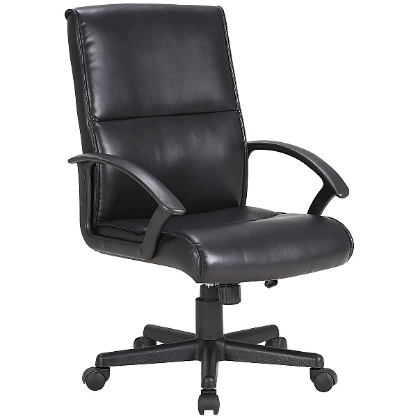 Lyon Medium Back Executive Leather Office Chair