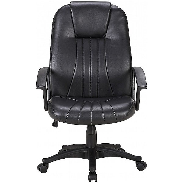 Pacific Leather Faced Manager Chair