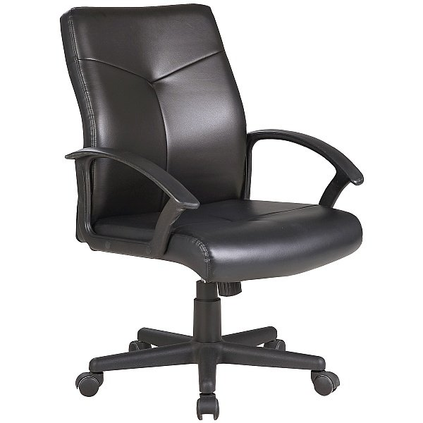 Adept Medium Back Executive Leather Office Chairs