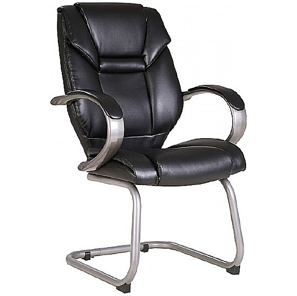 Fiji Leather Faced Visitor Chair