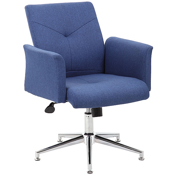 Skye Fabric Swivel Chair