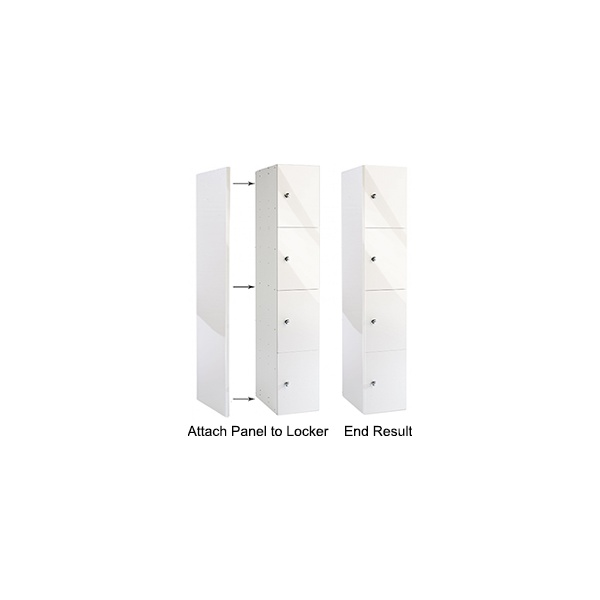 Glossbox Office Locker End Panels