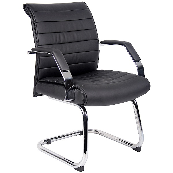 Identity Leather Visitor Chair