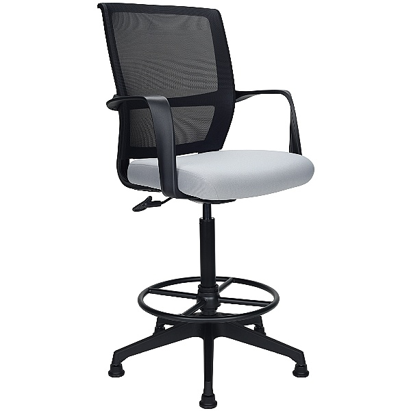 Orbit Mesh Back Draughtsmans Chairs