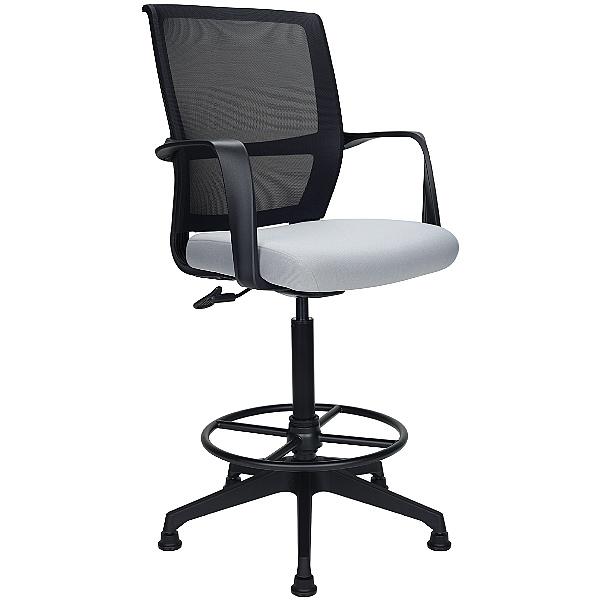 Orbit Mesh Back Draughtsmans Chairs