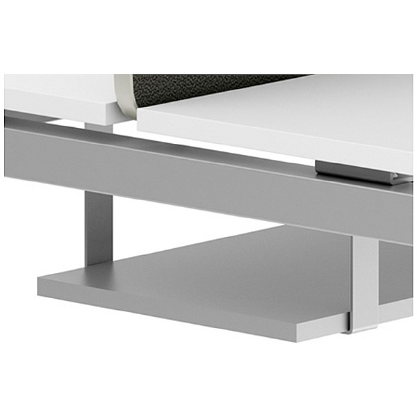 NEXT DAY Force Classic Bench Desks Cable Trays