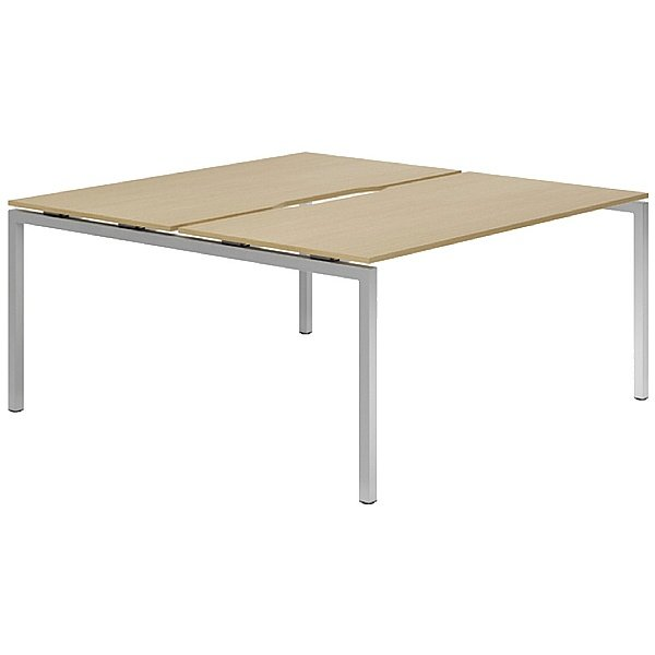 NEXT DAY Force Classic 2 Person Bench Desk