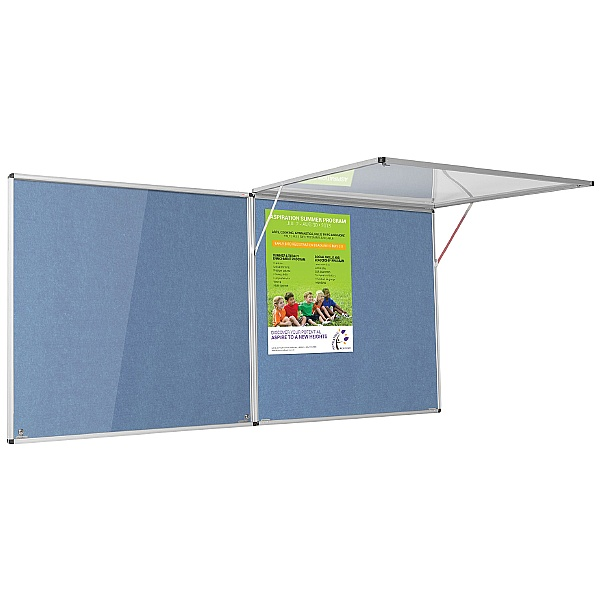Eco-Colour Corridor Resist-A-Flame Tamperproof Noticeboards