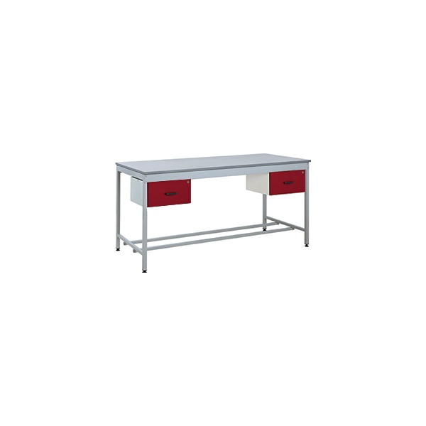 Taurus Utility Workbench With Two Single Drawers