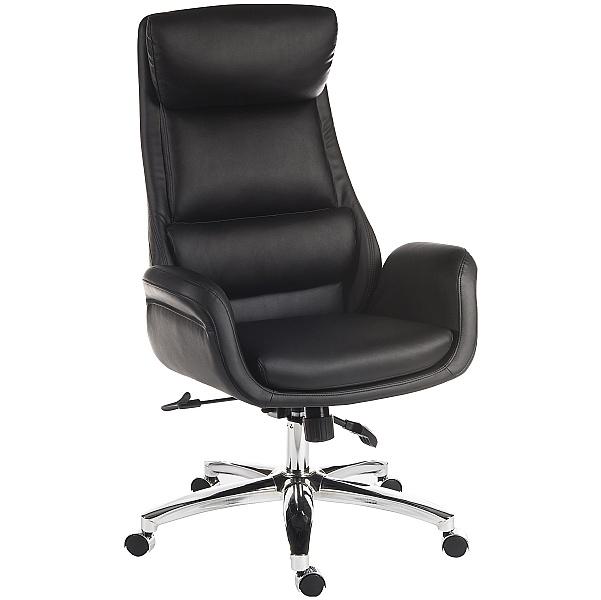 Ambassador Leather Look Executive Chair