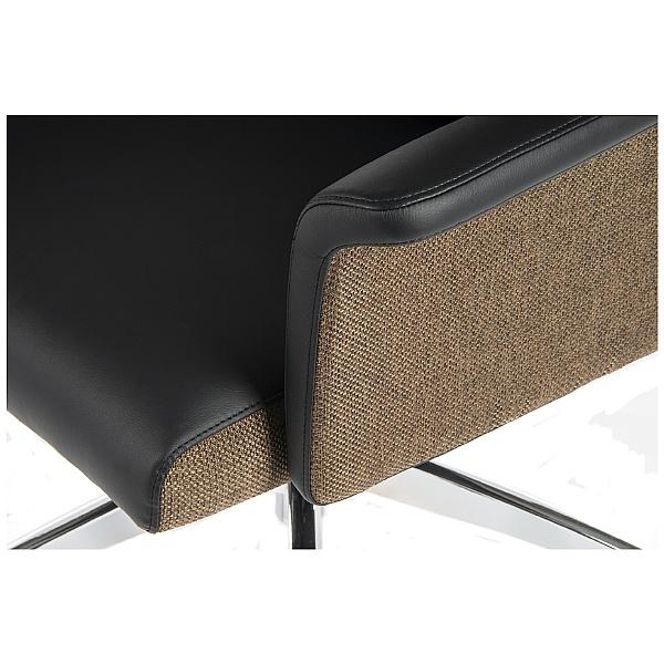 Elegance Medium Back Executive Chair Black