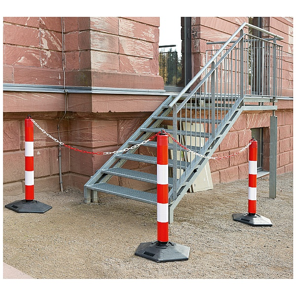 TRAFFIC-LINE Extern Freestanding Chain & Warning Posts