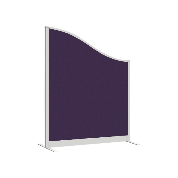 Lumiere Wave Freestanding Pinnable Partition Screens