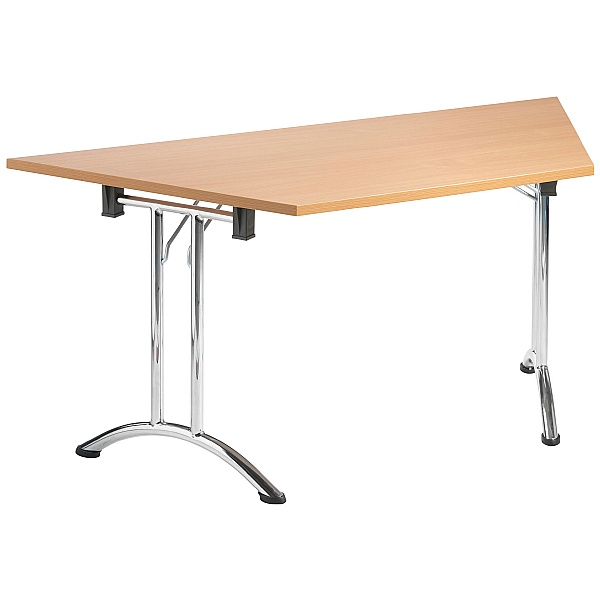 NEXT DAY Unite II Arc Trapezoidal Folding Tables