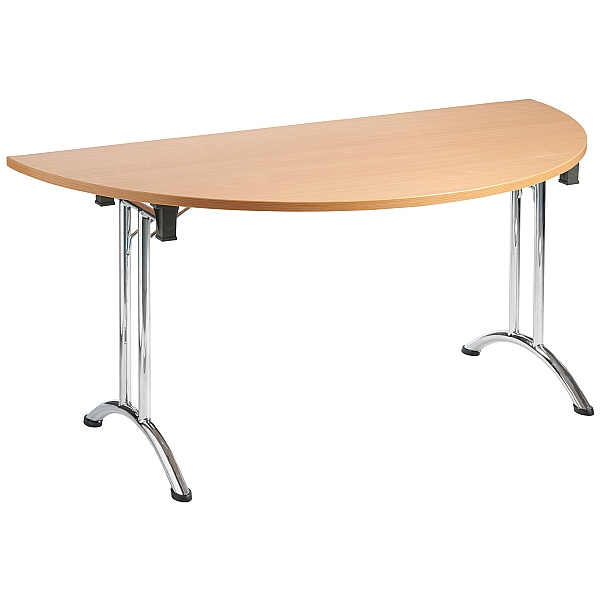 NEXT DAY Unite II Arc Semi Circular Folding Tables