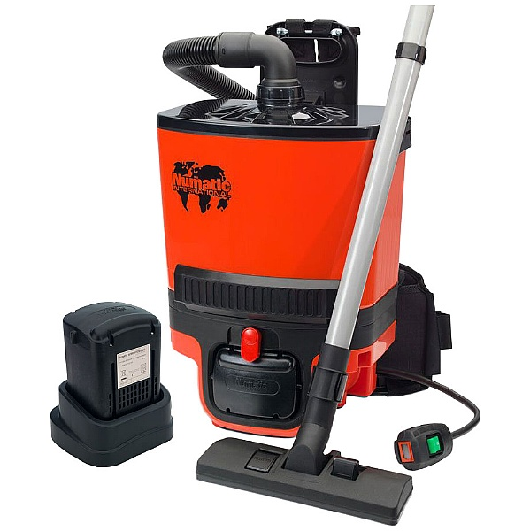 Numatic RSB140 Ruc Sac Two Battery Commercial Dry Vacuum Cleaner