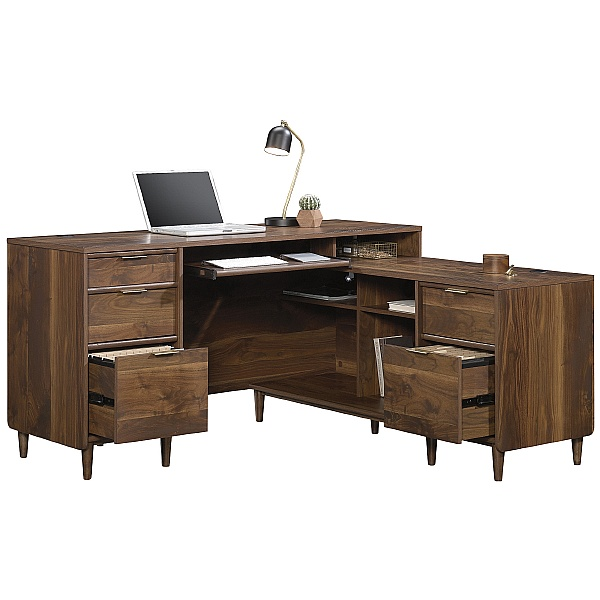 Granville L-Shaped Laptop Desk