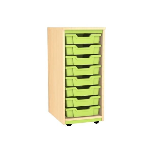 Splash Single Column 8 Tray Storage Unit