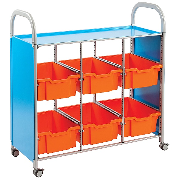 Gratnells Callero Library Tray Storage Unit