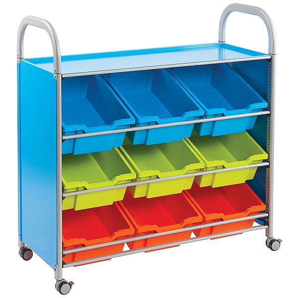 Gratnells Callero Tilted Deep Tray Wide Storage Unit