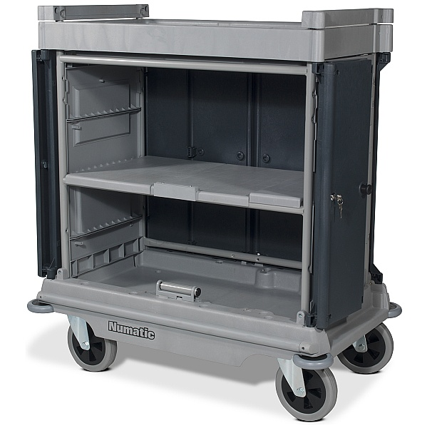 Numatic NuKeeper Housekeeping Trolley Hard Front NKU-30HF