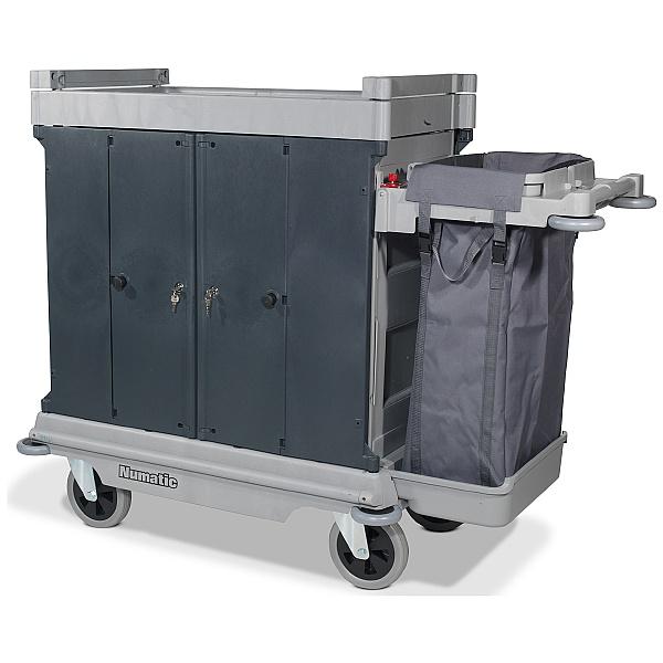Numatic NuKeeper Housekeeping Trolley Hard Front NKU-31HF