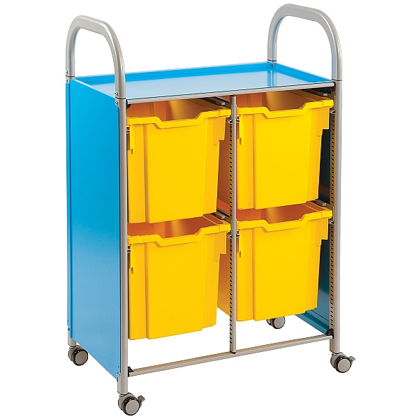 Gratnells Callero 4 Jumbo Tray 2 Column Storage Unit