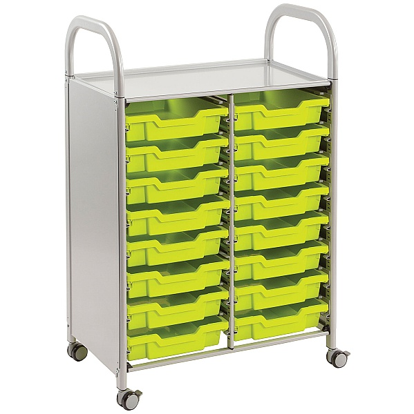 Gratnells Callero 16 Shallow Tray 2 Column Storage Unit