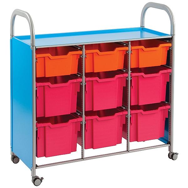 Gratnells Callero Mixed Tray Treble Width Storage Unit