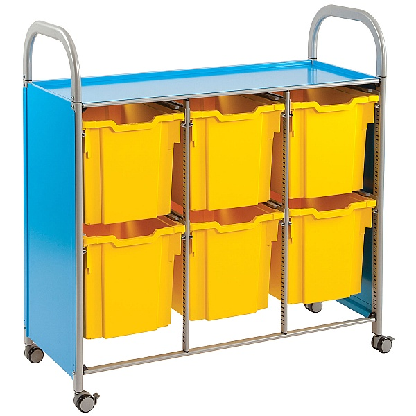 Gratnells Callero 6 Jumbo Tray 3 Column Storage Unit