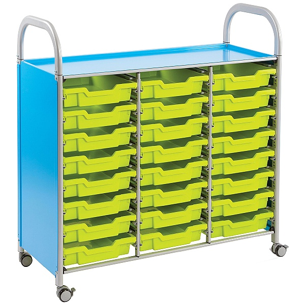 Gratnells Callero 24 Shallow Tray 3 Column Storage Unit