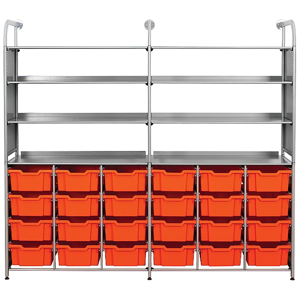 Gratnells Callero 24 Deep Tray Combination Storage Unit