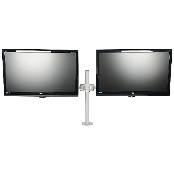 Kardo Pole Mounted Dual Monitor Arms
