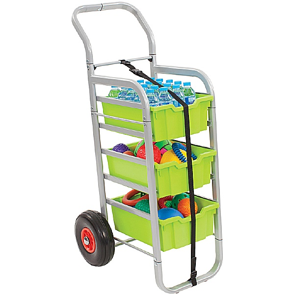 Gratnells Rover All-Terrain Trolley With Deep Trays