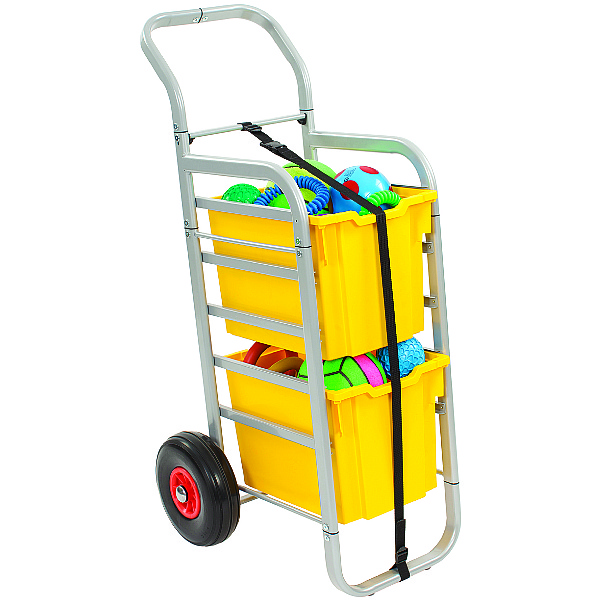 Gratnells Rover All-Terrain Trolley With Jumbo Trays