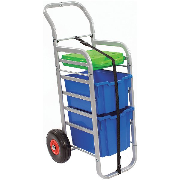 Gratnells Rover All-Terrain Trolley With SmartCase and 2 Trays