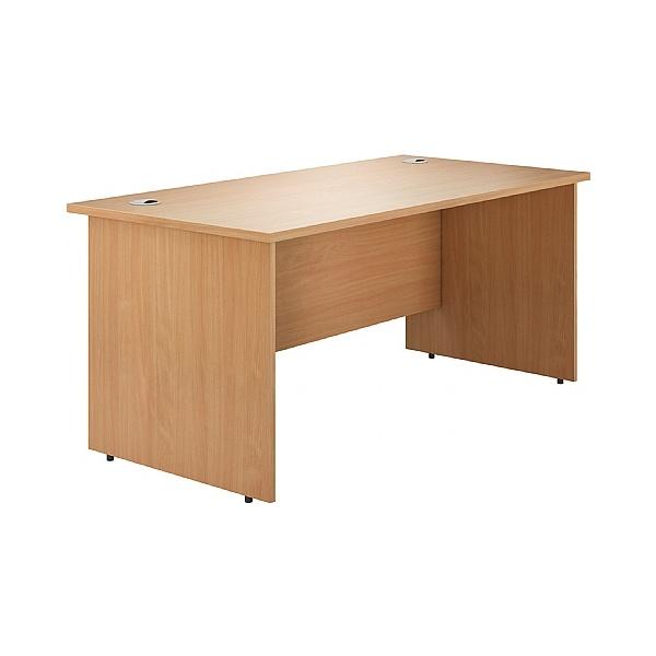 Phase Rectangular Panel End Desks