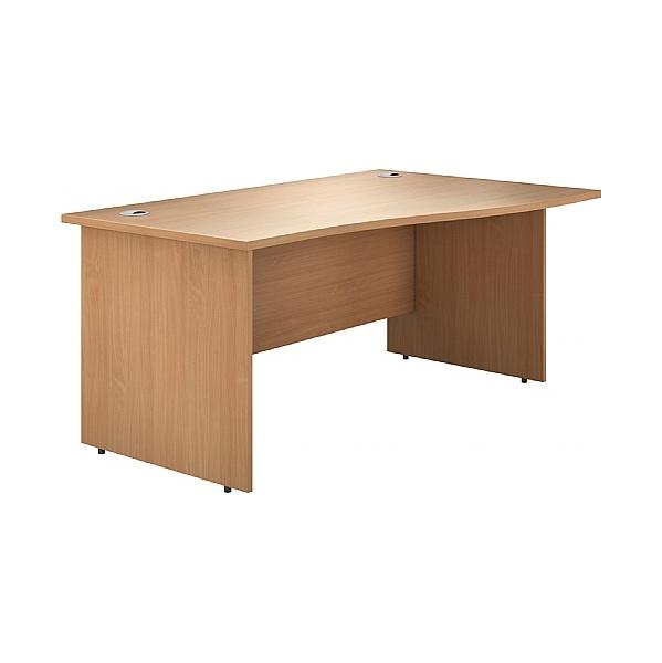 Phase Wave Panel End Desks