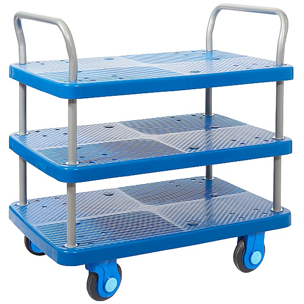 Proplaz Super Silent Three Tier Trolley