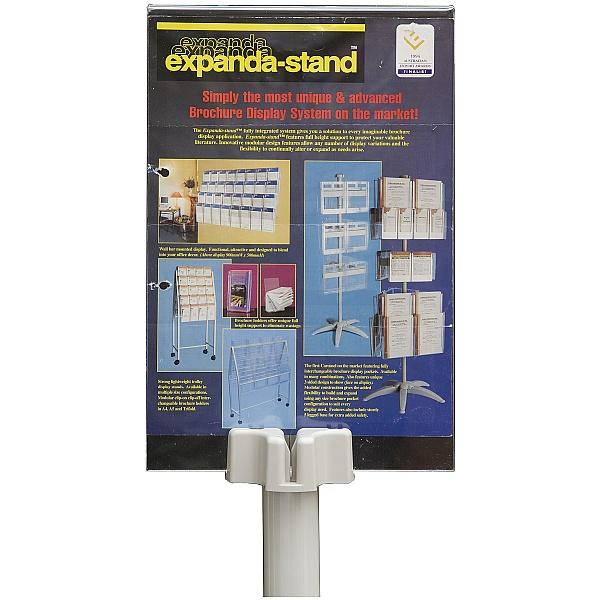 Freestanding Literature Carousel 48 x Third A4 Pockets
