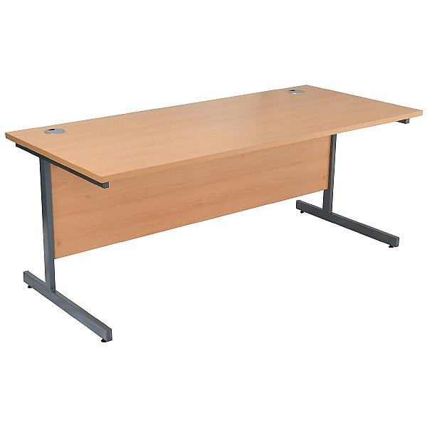 NEXT DAY Karbon K1 Rectangular Cantilever Office Desks